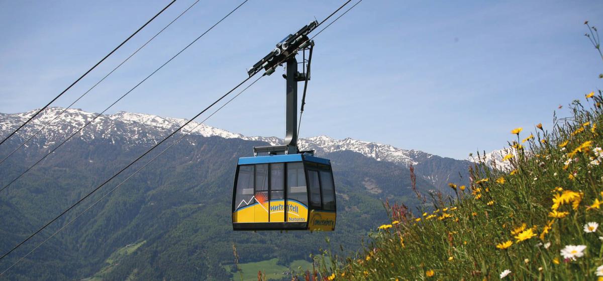 Lust auf Italien - Südtirol: Seilbahn Unterstell