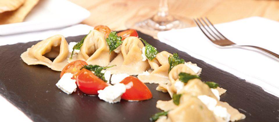 Rezept: Artischocken-Cappelletti mit Ziegenkaese