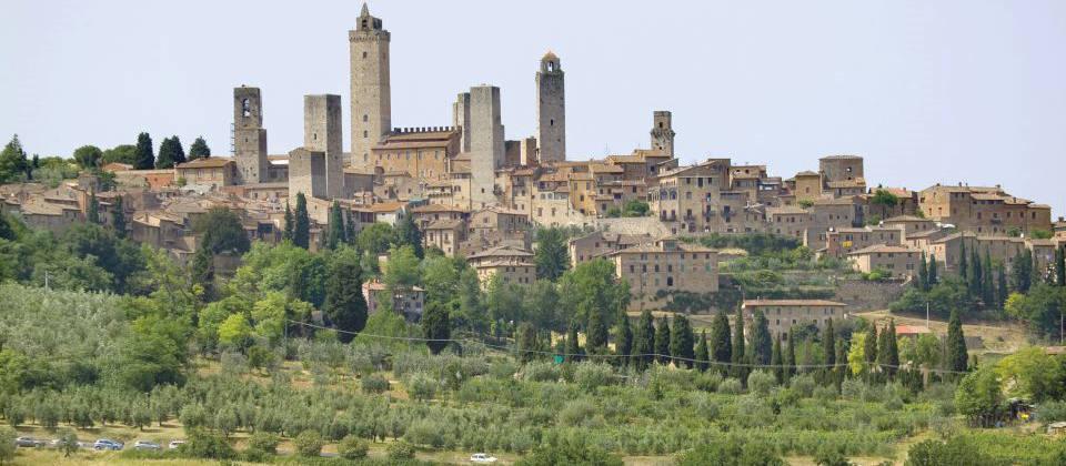 Lust auf Italien: Wein Toskana San Gimignano
