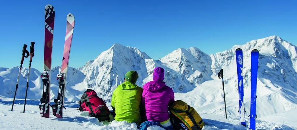 Lust auf Italien, Reisen, Südtirol, Latsch-Martelltal, Winter, Panorama
