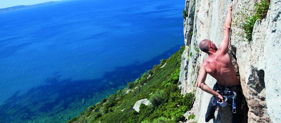 Lust auf Italien, Reisen, Sardinien, Klettern, in der nähe von masua
