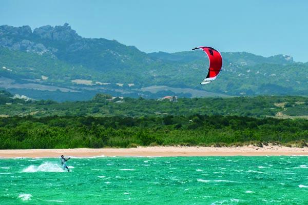 Lust auf Italien, Reisen, Sardinien, kitesurfen an der Nordküste