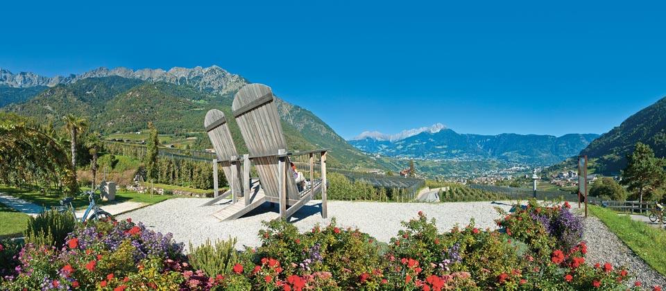 Lust auf Italien, Reisen, Südtirol, Algund Frühling
