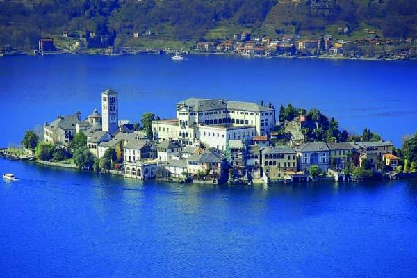 Lust auf Italien, Reisen, oberitalienische Seen, Ortasee, Insel San Giulio.