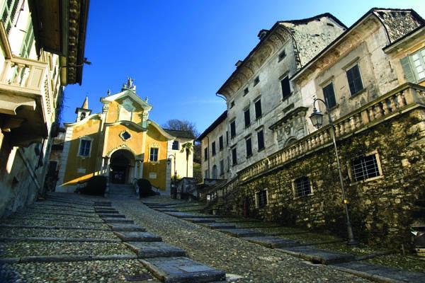 Lust auf Italien, Reisen, oberitalienische Seen, Ortasee, Kirche Santa Maria Assunta