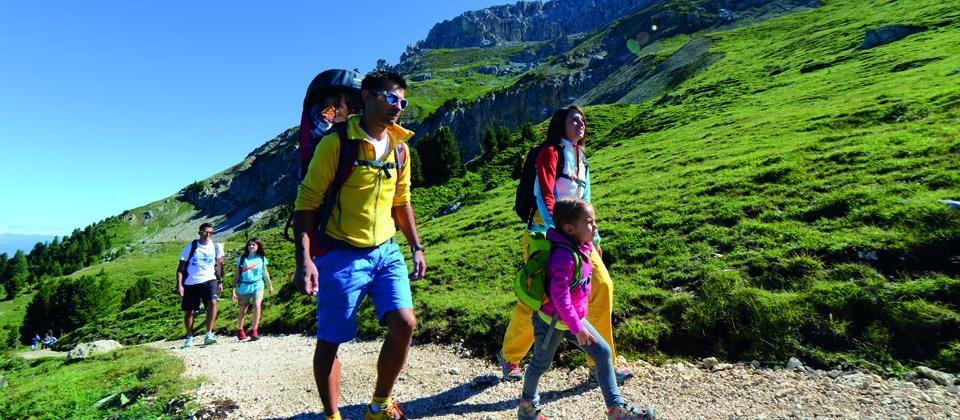 Wanderungen für Familien im Latemar - Südtirol
