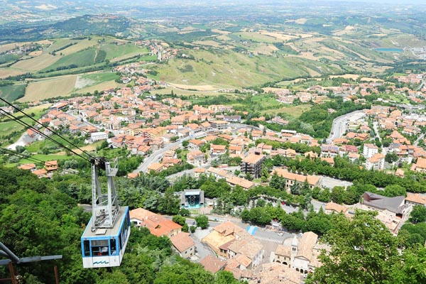 Sehenswürdigkeiten - San Marino