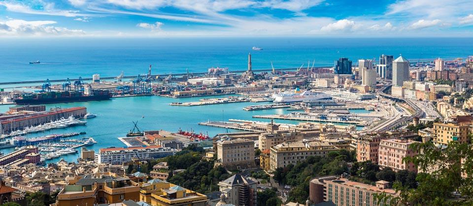 Genua - Hauptstadt Ligurien