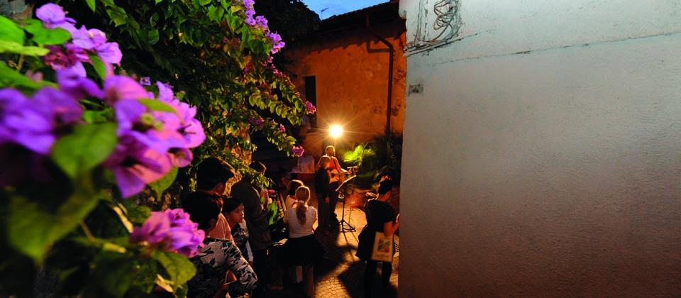 Abendveranstaltung in Limone