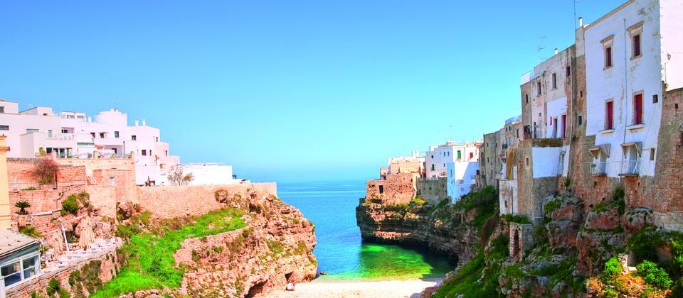 Städte der Region Bari - Apulien