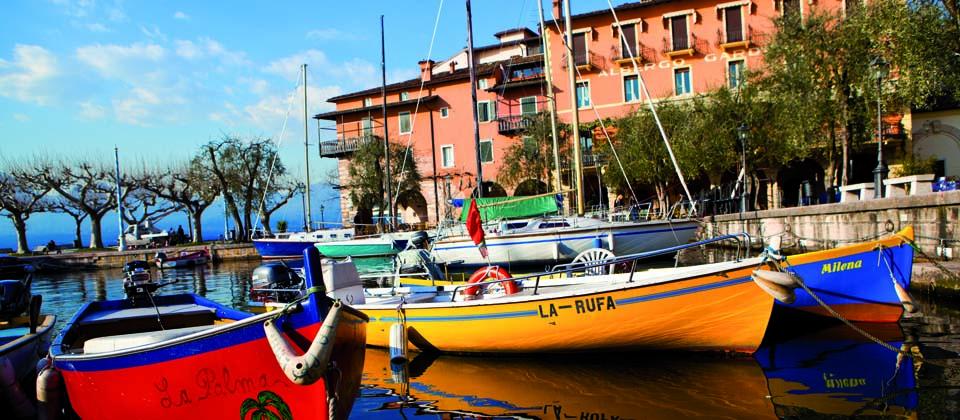 Lago di Garda Veneto im Herbst