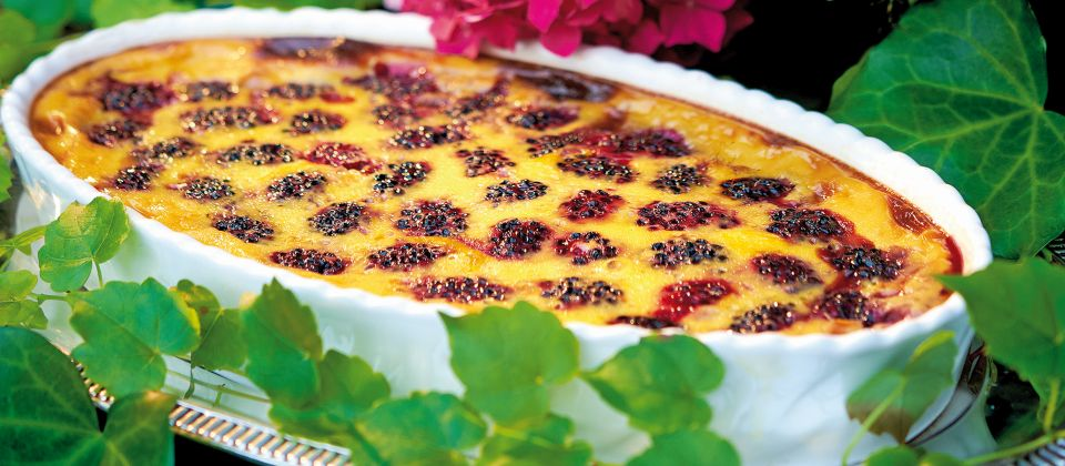 Brombeer Clafoutis