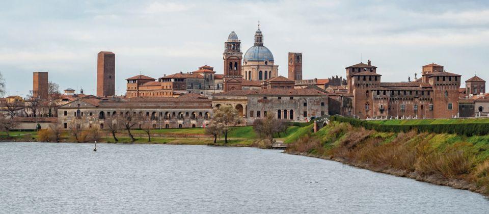 Mantua am Fluss Mincio Aufmacher