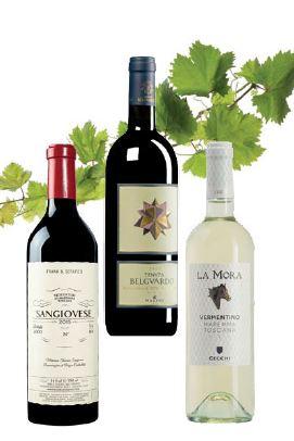 Doc Maremma Toscana Weinflaschen
