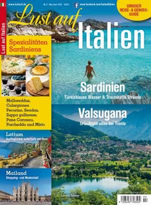 Aktuelle Ausgabe: Lust auf Italien 2/2020