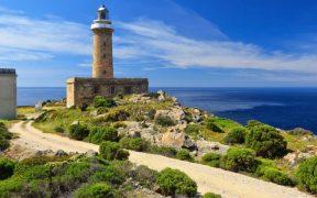 Capo Sandalo - lighthouse