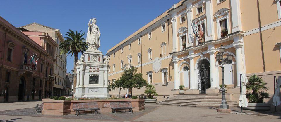 Piazza Corrias ad Oristano