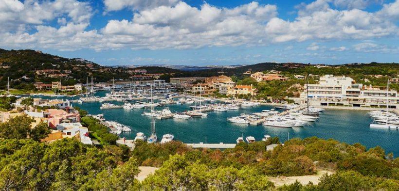 Marina of Porto Cervo, Emerald Coast, Sardinia, Italy