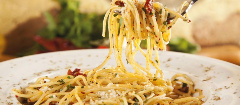 Spaghetti agiio-olio