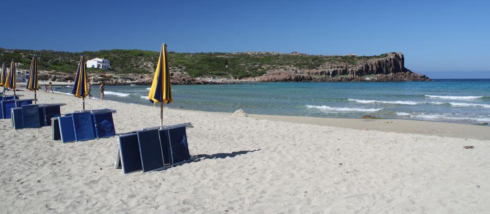 Spiaggia La Caletta. Isola di San Pietro