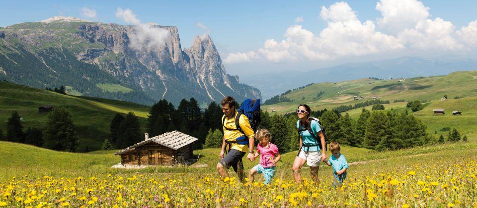 Wandern mit Familie_Seiser Alm Beitragsbild