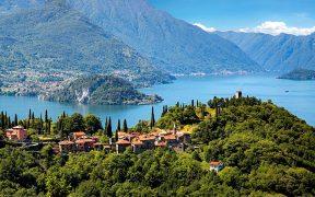 Lago di Como - Vezio, castello di Vezio