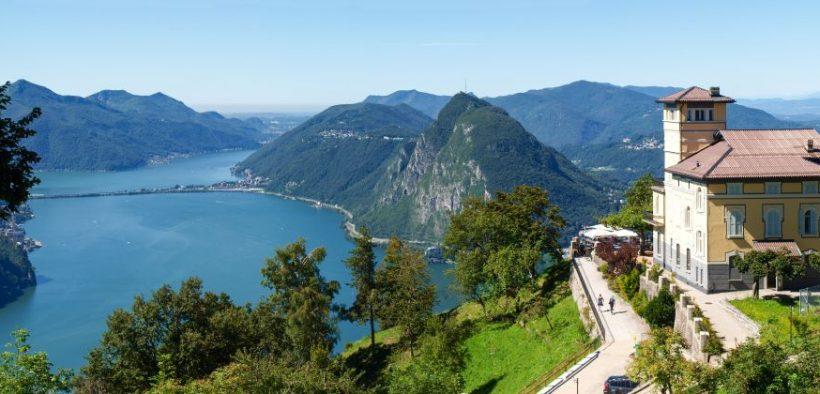 Luganer See Monte Bre Beitragsbild