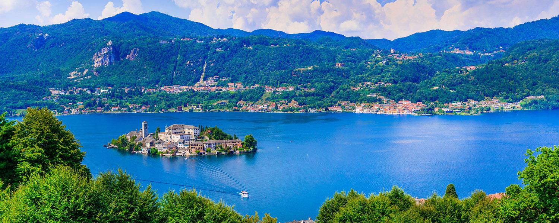 Lago d'Orta - Ortasee - Piemont