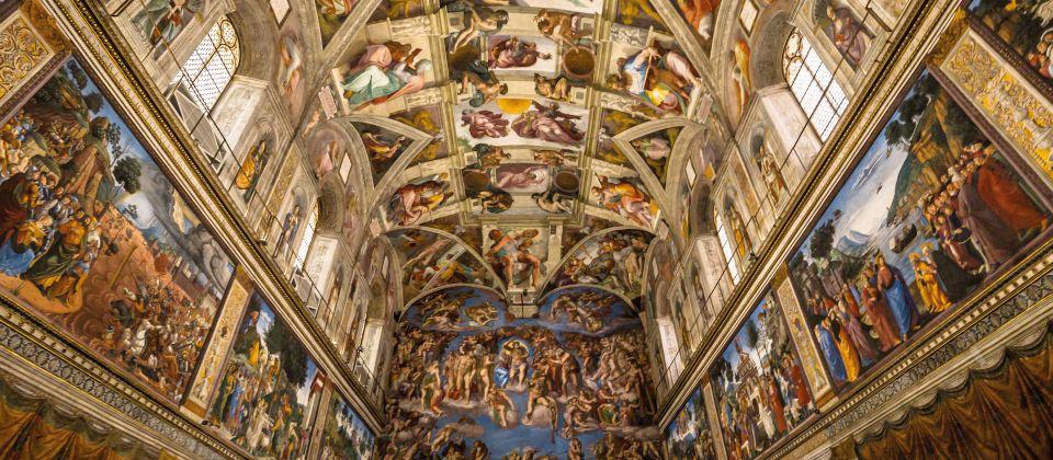 Sixtinische Kapelle Beitragsbild