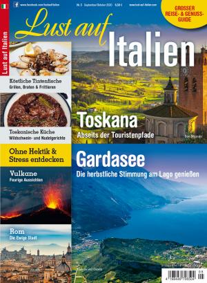 Aktuelle Ausgabe: Lust auf Italien 5/2020