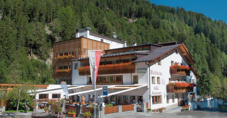 Untervinschgau: Hotel Waldheim - Willkommen