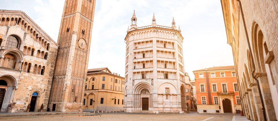 Beitragsbild Das Bastisterium von Parma Emilia Romagna