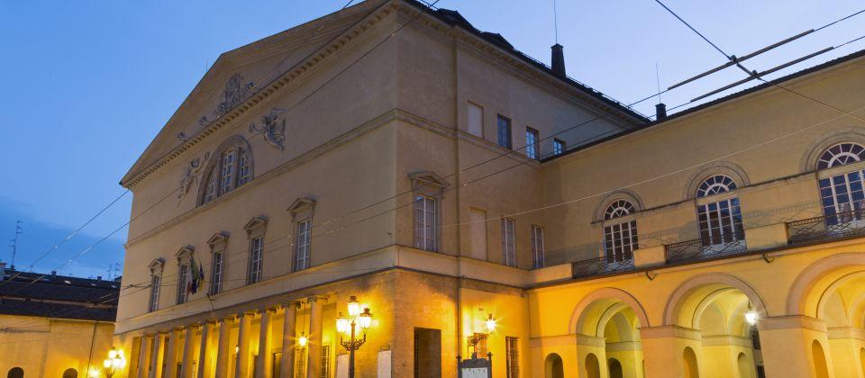 Beitragsbild Das Teatro regio von Parma Emilia Romagna