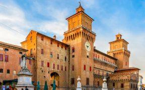 Beitragsbild Die Altstadt von Ferrara Emilia Romagna