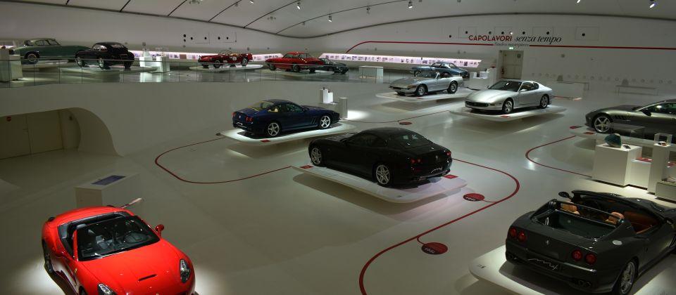 Beitragsbild Die Ferrari Museen der Provinz Modena Emilia Romagna