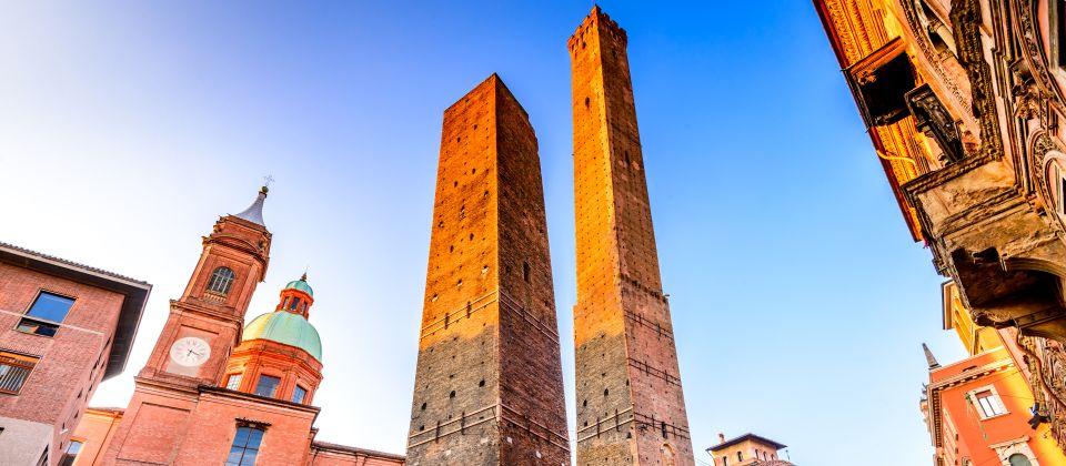Beitragsbild Die schiefen Türme von Bologna Emilia Romagna