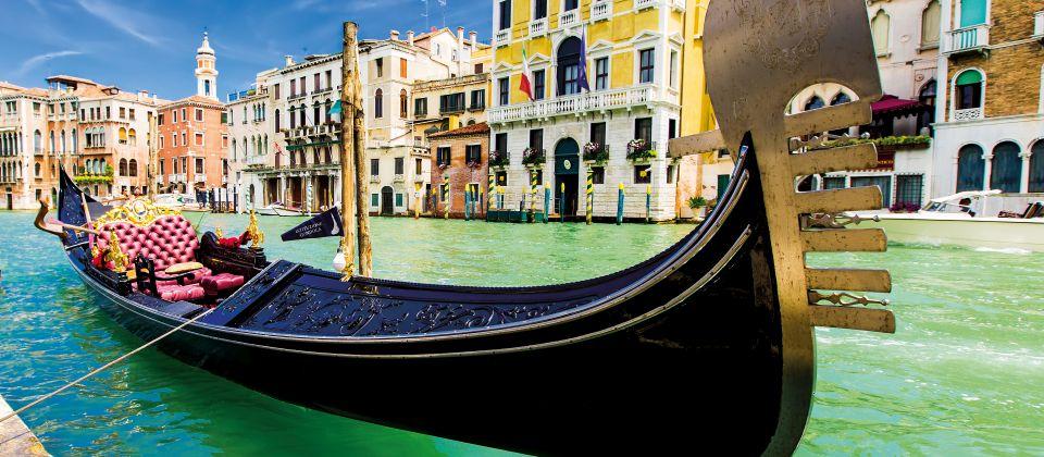 Die Gondeln Venedigs Beitragsbild
