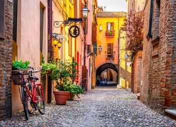 Fließtext Fahrradstadt Ferrara Emilia Romagna