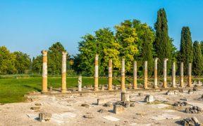 Beitragsbild Ausgrabungen von Aquileia Udine Friaul Julisch Venetien