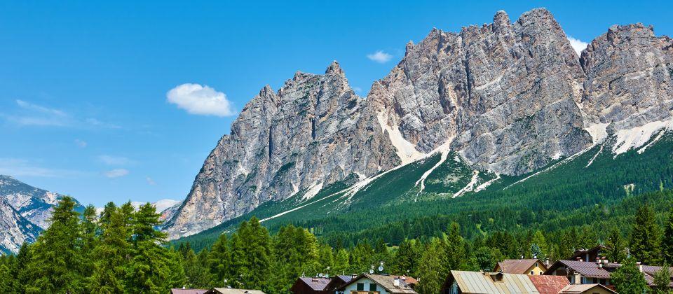 Beitragsbild Die Gecshichte von Cortina Belluno Venetien