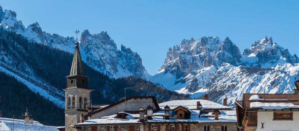 Beitragsbild Forni di Sopra Friaul Julisch Venetien Winter Ski