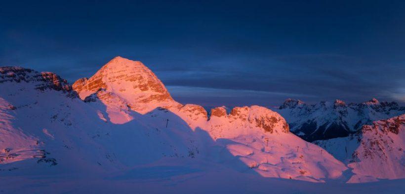 Beitragsbild Sella Nevea Friaul Julisch Venetien Winter Ski