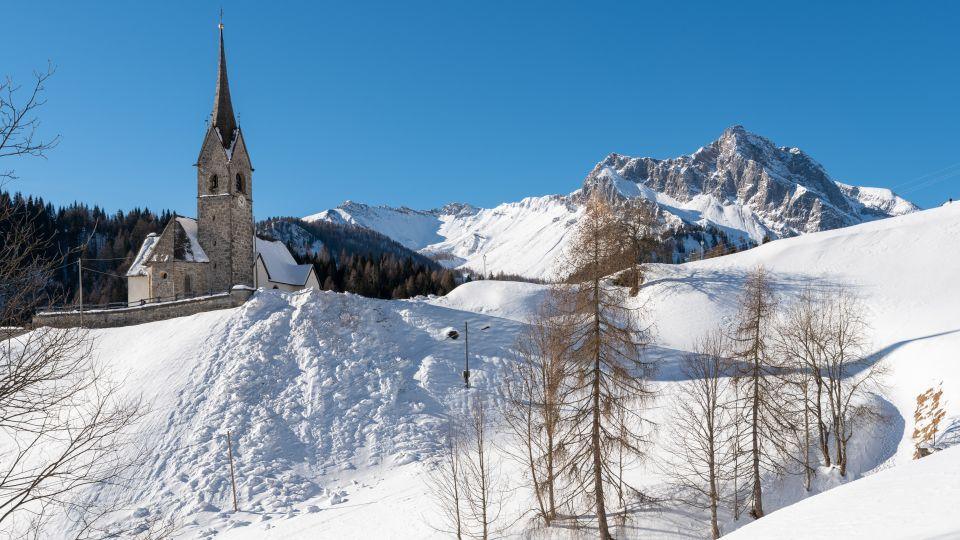 Fließtext 1 Pradibosco – Sauris Friaul Julisch Venetien Winter Ski