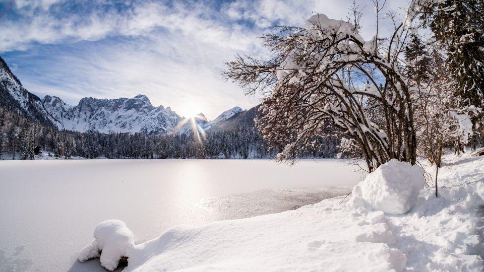 Fließtext 4 Tarvisio Friaul Julisch Venetien Winter Ski