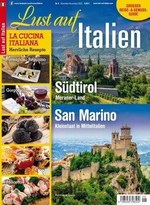 Aktuelle Ausgabe: Lust auf Italien 6/2020