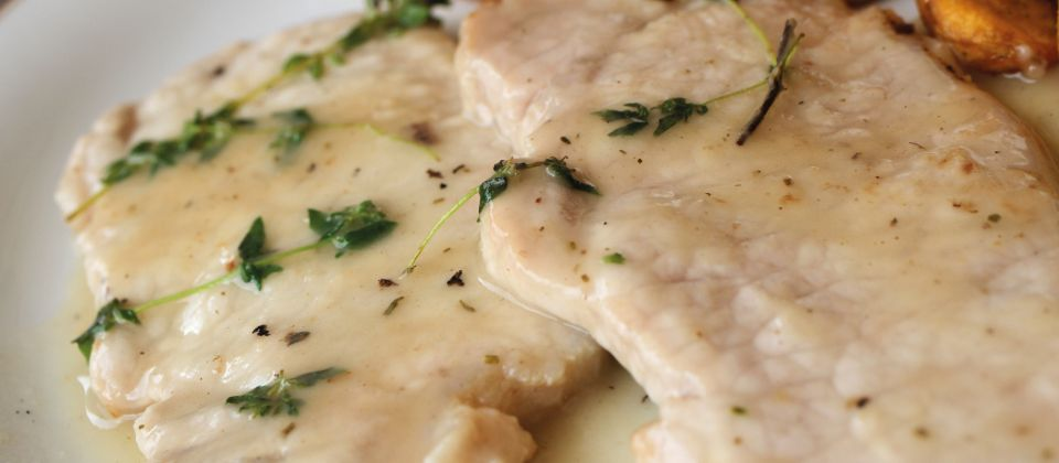 scaloppine alla spumante