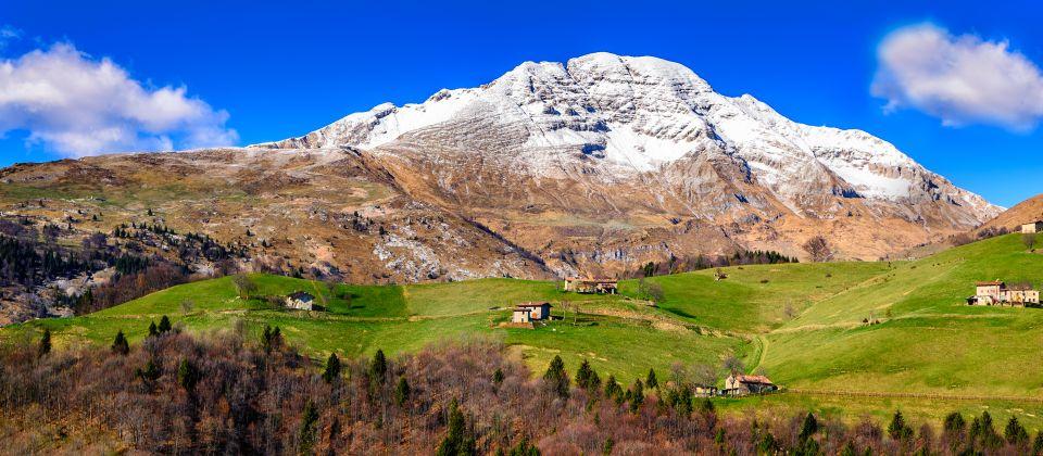 Beitragsbild Die Berge und Täler von bergamo Lombardei