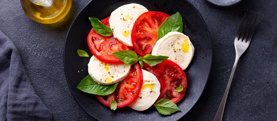 Tomate & Mozzarella Beitragsbild